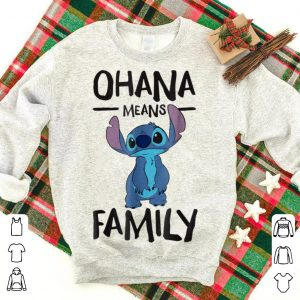 Wonderful Disney Stich Ohana Means Family shirt