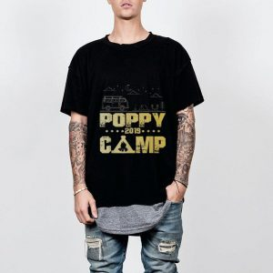 Wonderful Poppy Fire Camp 2019 Family Vacations shirt