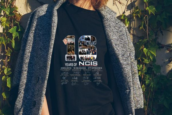 16 Years Of NCIS 2003 - 2019 Signature sweater