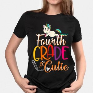 4th Grade Cutie First Day Of School Kids shirt