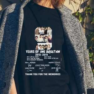 9 Years of One Direction thank you for the memories signature sweater
