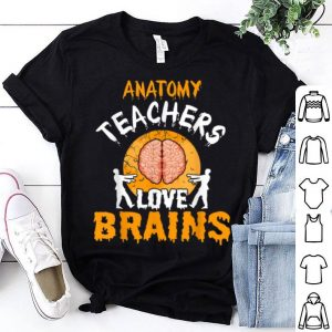 Awesome Anatomy Teachers Love Brains Halloween Party Costume Gift shirt
