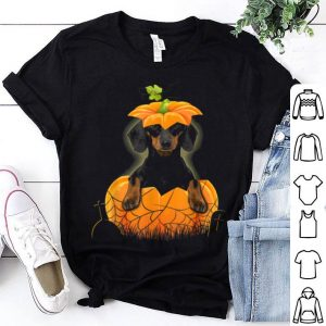 Awesome Dachshund Pumpkin Halloween For Men Woman shirt