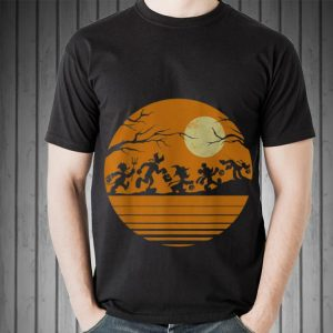 Awesome Disney Mickey Mouse and Friends Halloween shirt