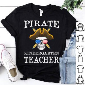 Awesome Kindergarten Teacher Halloween Party Costume Gift shirt