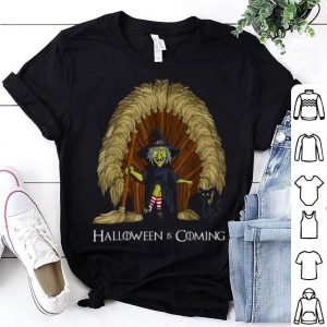 Awesome Witch Brooms Throne Funny Halloween Gift shirt