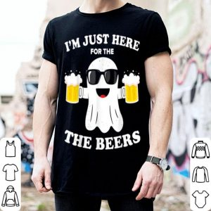 Beautiful Beer Halloween Costume Im Just Here For The Beers Men shirt