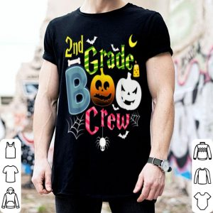 Beautiful Halloween 2nd Grade Boo Ghost Crew Teachers Kids shirt