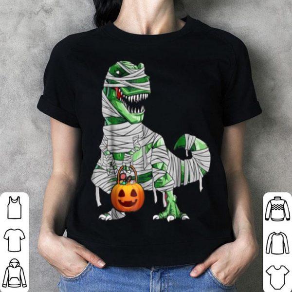 Beautiful Halloween Pumpkin Dinosaur Gift For Kids Boys Girls shirt