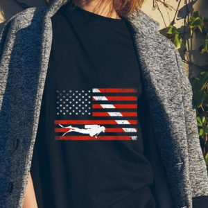 Diver Down American Flag sweater