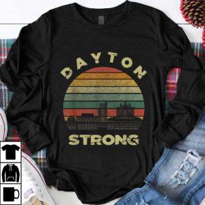Funny Dayton Strong Cityscape Ohio Vintage shirt