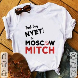 Funny Just say Nyet to Moscow Mitch McConnell shirt