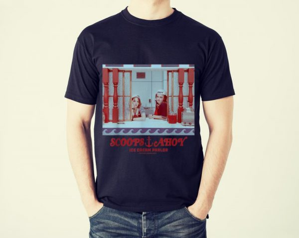 Funny Netflix Stranger Things Scoops Ahoy Ice Cream Parlor shirt