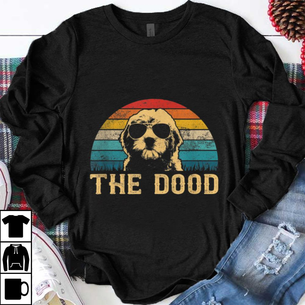 Funny Vintage Goldendoodle The Dood shirt 1 - Funny Vintage Goldendoodle The Dood shirt