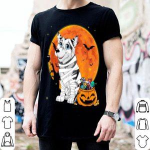 Hot Alaskan Malamute Dog Candy Pumpkin Halloween Gifts shirt