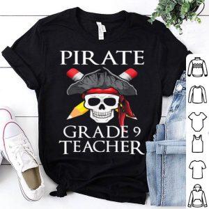 Hot Grade 9 Teacher Halloween Party Costume Gift shirt