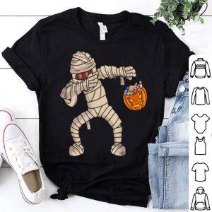 Hot Happy Daboween Mummy Halloween Dabbing Trick Dab shirt