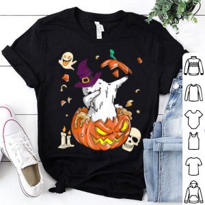Hot Samoyed Dog Pumpkin Halloween Pumpkin Halloween Gifts shirt