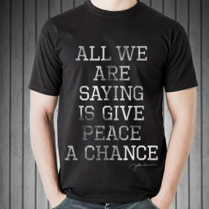 John Lennon All We Are Saying Is Give Peace A Chance sweater