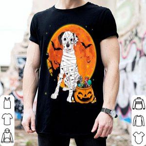 Official Dalmatian Dog With Candy Pumpkin Halloween Gifts shirt
