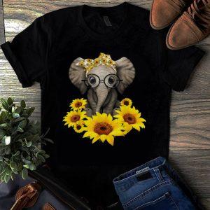 Original Sunflower Headband Elephant shirt