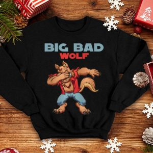 Premium Big Bad Wolf Halloween Costume Dabbing Wolf Gift shirt