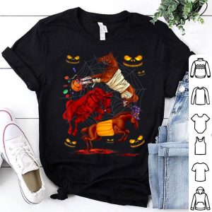 Premium Horse Happy Halloween Cute Mummy Witch Pumpkin shirt