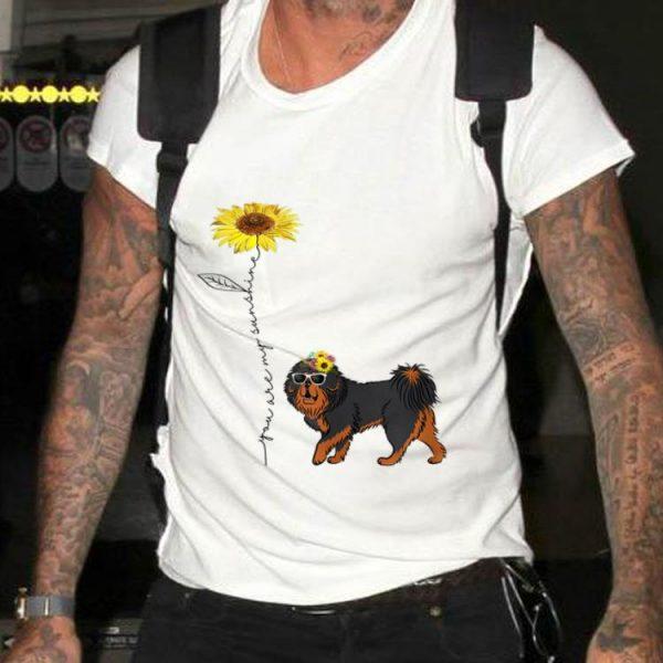 Sunflower You Are My Sunshine Tibetan Mastiff sweater