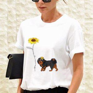 Sunflower You Are My Sunshine Tibetan Mastiff sweater 2
