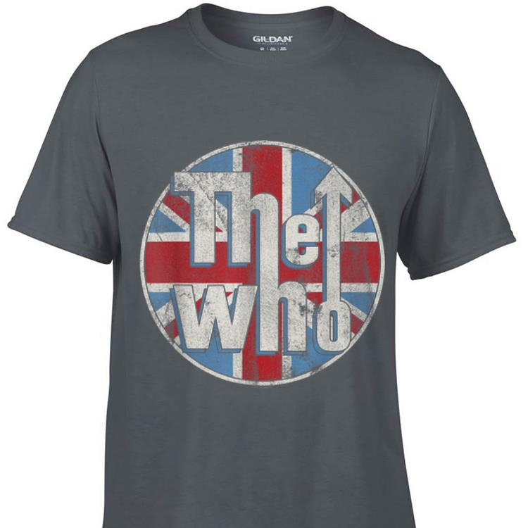 The Who Union Jack Circle Logo sweater 1 - The Who Union Jack Circle Logo sweater