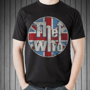 The Who Union Jack Circle Logo sweater 1