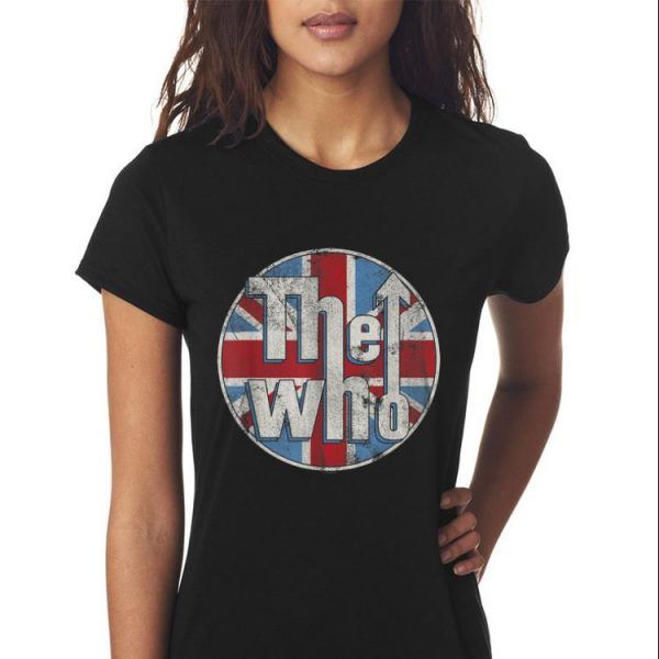 The Who Union Jack Circle Logo sweater