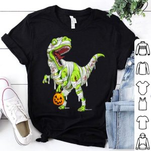 Awesome Halloween Pumpkin Dinosaur For Kids Boys Girls shirt