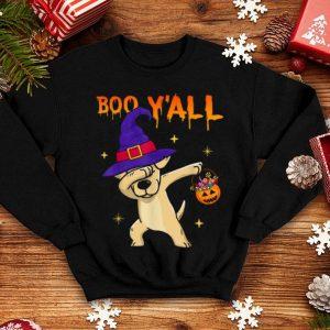 Boo Y'all Labrador Retriever Pumpkin Halloween Gifts shirt