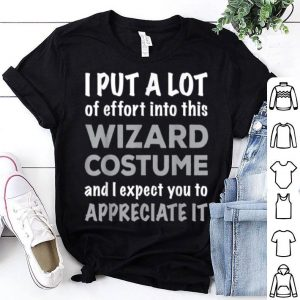 Easy Lazy Wizard Halloween Costume shirt