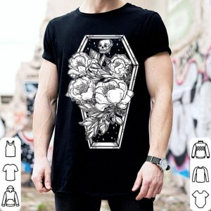 Floral Spooky Halloween - Grave And Roses Occult shirt