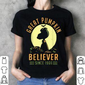 Great 1966 Pumpkin Halloween Believer shirt