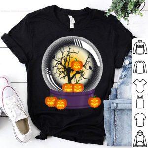 Halloween Snow Globe Jack O Lantern Costume shirt