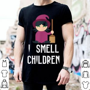 Halloween Witch Costume - I Smell Children shirt