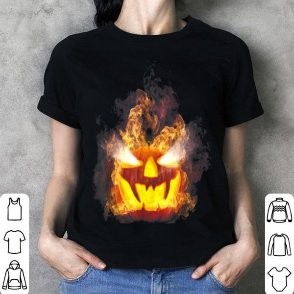 Happy Halloween Pumpkin Face Cartoon Funny shirt