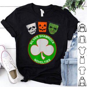 Hot Halloween Iii Silver Shamrock And Masks shirt