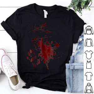 Hot Serial Killer Blood Spatter Halloween Costume shirt