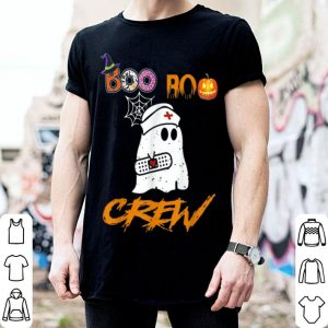 Nice Boo Boo Crew Nurse Ghost Funny Halloween Costume Gift shirt