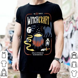 Nice Book Of Witchcraft' Back Cat Witch Halloween shirt