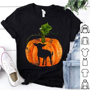 Nice Chihuahua in Pumpkin Funny Halloween Dog Lovers Gift shirt