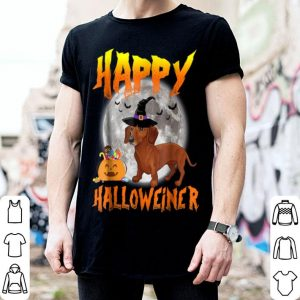 Official Happy Halloween Halloweiner Daschund Lovers shirt