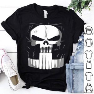 Official Marvel Punisher Classic Skull Halloween Costume shirt
