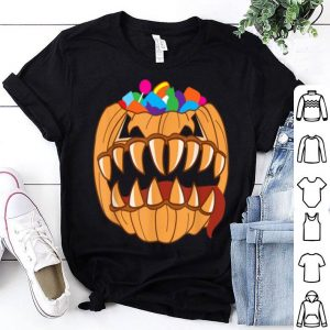 Official Monster Halloween Pumpkin Candy Filled Tricky Treat shirt