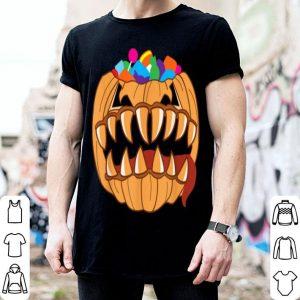 Official Monster Halloween Pumpkin Candy Filled Tricky Treat shirt