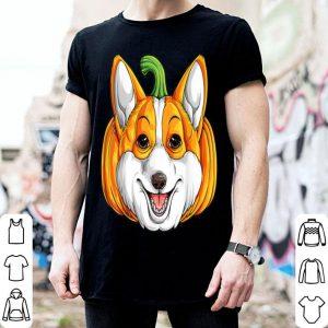 Premium Corgi Pumpkin Halloween Gifts Dog Lover Men Thanksgiving shirt